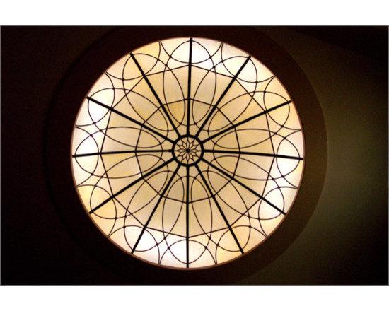 Greco Stained Glass Dome - Greco Stained Glass Dome by Ellenburg & Shaffer