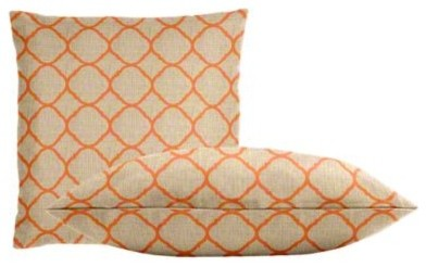 Sunbrella Accord Koi Throw Pillow Set transitional-outdoor-cushions-and-pillows
