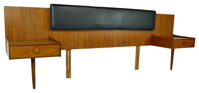 Mid Century Modern 4 Piece Bedroom Suite By Kofod Larsen Midcentury Headboards Atlanta