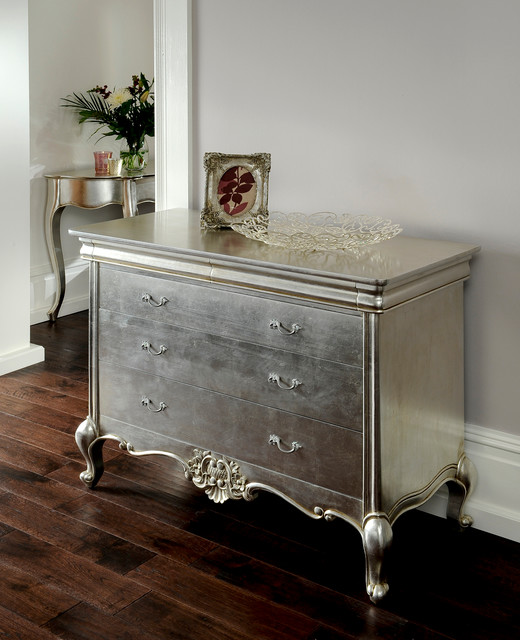 cristal silver leaf french furniture eclectic furniture london