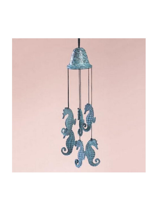 Seahorse Wind Chime -