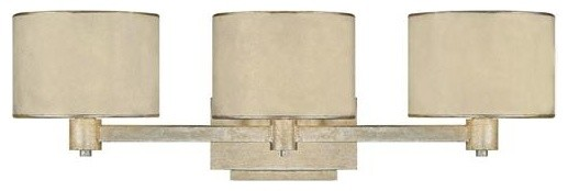 Hampton Bay Dakota Collection 3 Light Bathroom Vanity: Capital Lighting 1008WG-410 3 Light Vanity Fixture Luna