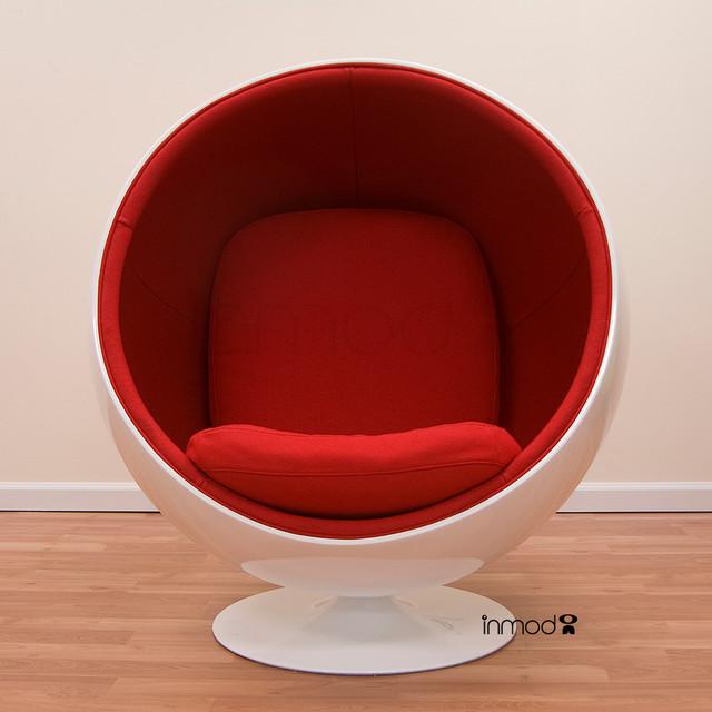 Eero aarnio ball chair midcentury armchairs and accent chairs new york - Ball chair eero aarnio ...