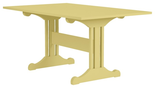 Inga Trestle Dining Table traditional dining tables