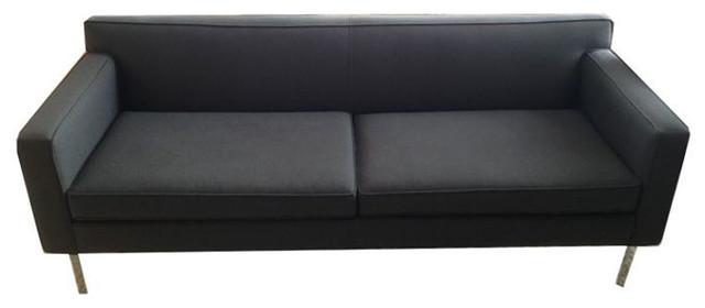 SOLD OUT!  Design Within Reach Grey Theatre Sofa - $2,700 Est. Retail - $2,000 o contemporary-sofas