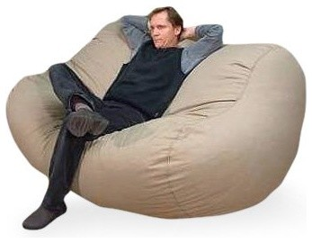 Large Big Bean Hemp Foam Bean Bag Sofa modern-sofas