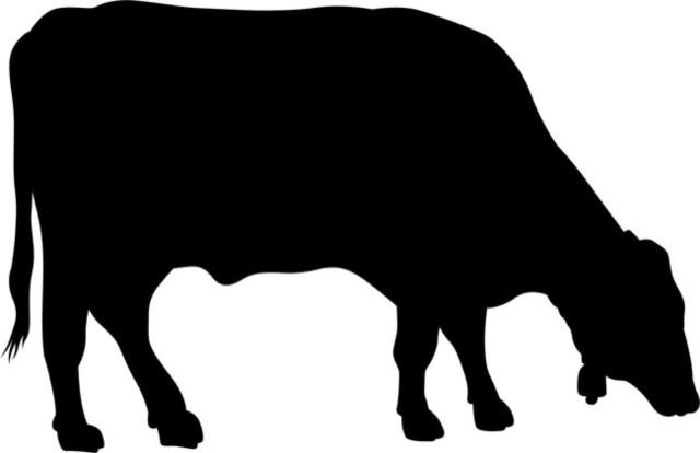 Grazing Cow Stencil - Farmhouse - Wall Stencils - by Stencil Ease