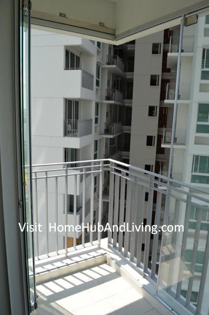 Singapore HDB AMK DBSS Frameless Doors Balcony Glass  : home design from www.houzz.com size 424 x 640 jpeg 73kB