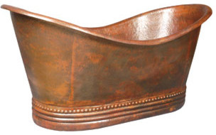 Copper Freestanding Tub by Elizabethan Classics traditional-bathtubs