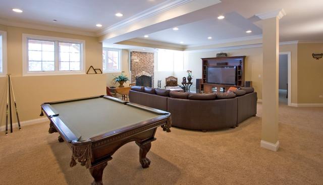 Interiors basement