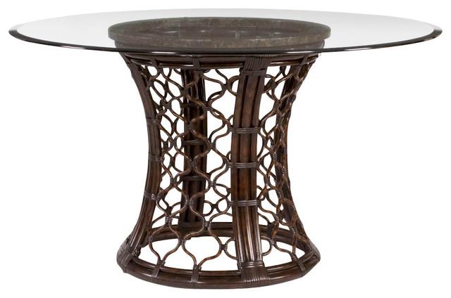 Round Glass Pedestal Dining Table bassett round dining table | best dining table ideas