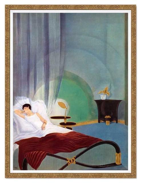Sleeping Woman traditional-artwork