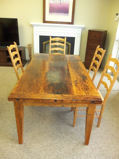Reclaimed Wood Tables - eclectic - dining tables - toronto - by