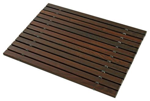 wooden bath mat bath mats new york by dar gitane