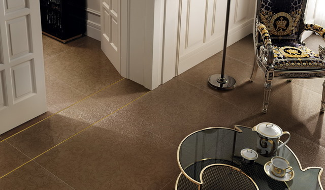 Versace Hermitage Series contemporary-wall-and-floor-tile