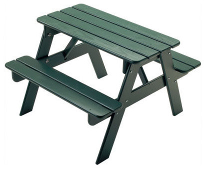 Little Colorado Kids' Picnic Table traditional-kids-tables-and-chairs