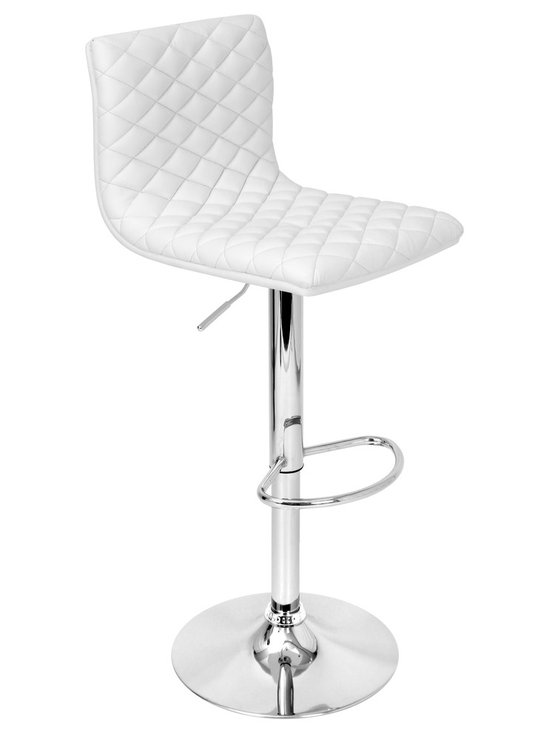Caviar Bar Stool - WHITE