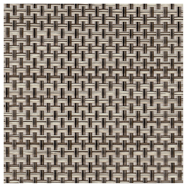 Chilewich Basket weave Floormats - 3' x 4', Oyster contemporary-rugs