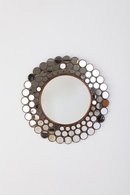 Mosaic Wall Mirror eclectic-mirrors