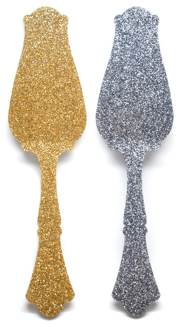 Glitter Tart Server eclectic-specialty-kitchen-tools