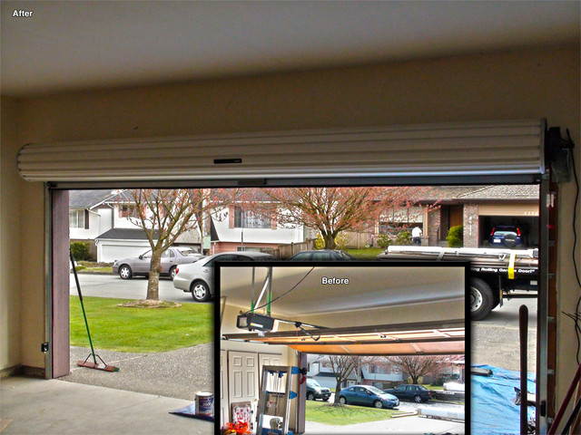 Residential Roll Up Garage Doors Modern Vancouver By