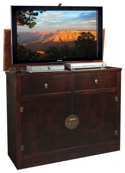 Asian Inspired TV Lift Cabinets - Asian - Home Electronics - miami - by TVLiftCabinet