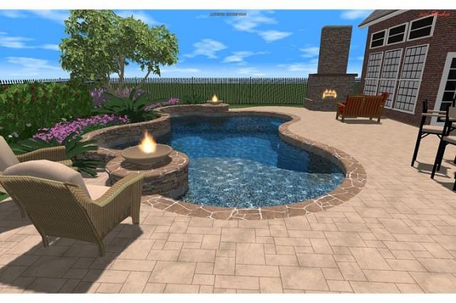 Edie Residence eclectic-rendering
