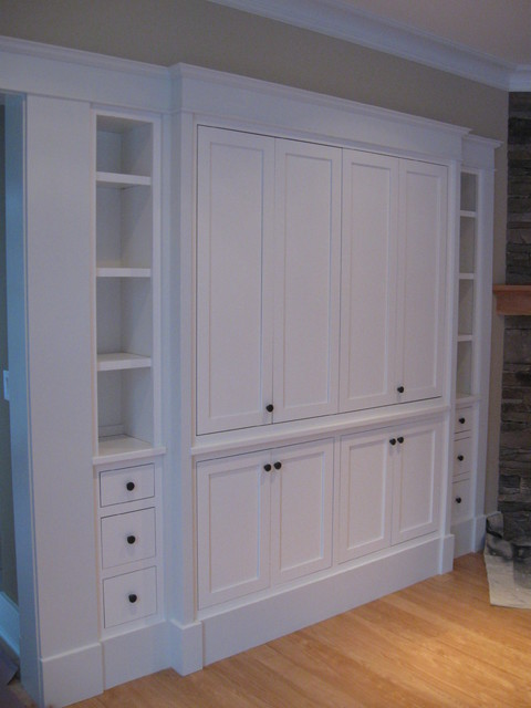 Entertainment Center traditional-storage-units-and-cabinets