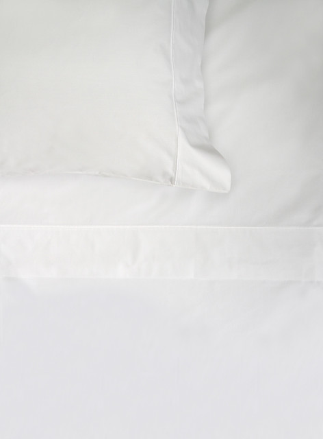 320 Thread Count Cotton Satin White bedding