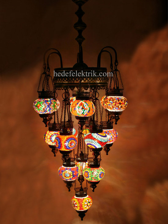 Turkish Style - Mosaic Lighting - Code: HD-04160_55