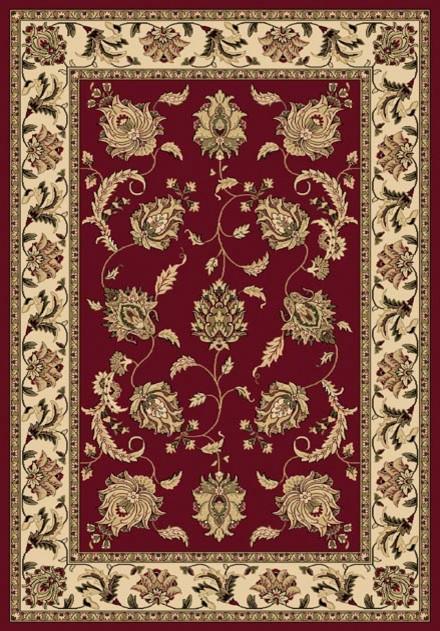 "Shiraz 51026-2100 3'11"" x 5'3"" Red Rug contemporary-rugs"