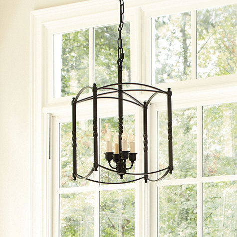 Carriage House Chandelier - Large traditional-chandeliers