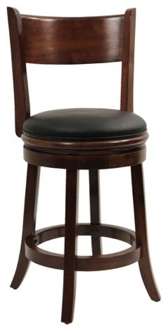 Palmetto Bar Stool in Walnut modern-bar-stools-and-counter-stools