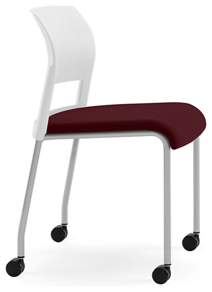 Steelcase Move Multi-Use Chair, Platinum Frame & Casters modern-office-chairs