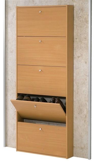 Tvilum Beech Wood Shoe Storage - Modern - Closet Storage - by Lowe's