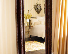 Floor Mirror with Jewelry Cabinet traditional mirrors