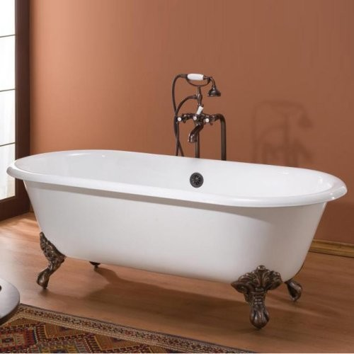 Cheviot Regal 60 in. Classic Cast Iron Clawfoot Tub traditional-bathtubs