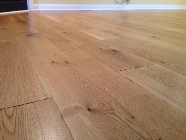 5 7 9 inch character white oak rustic hardwood for Hardwood floors 5 inch