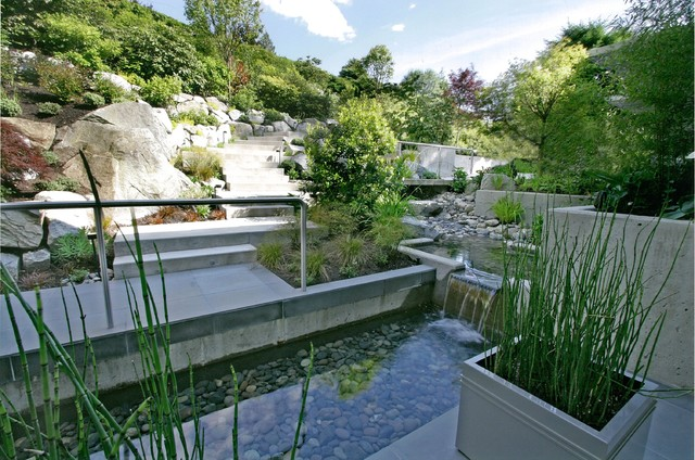 Water Feature - Tiered traditional-pool