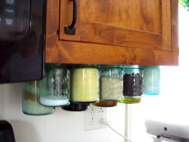 Mason Jar Organizers  