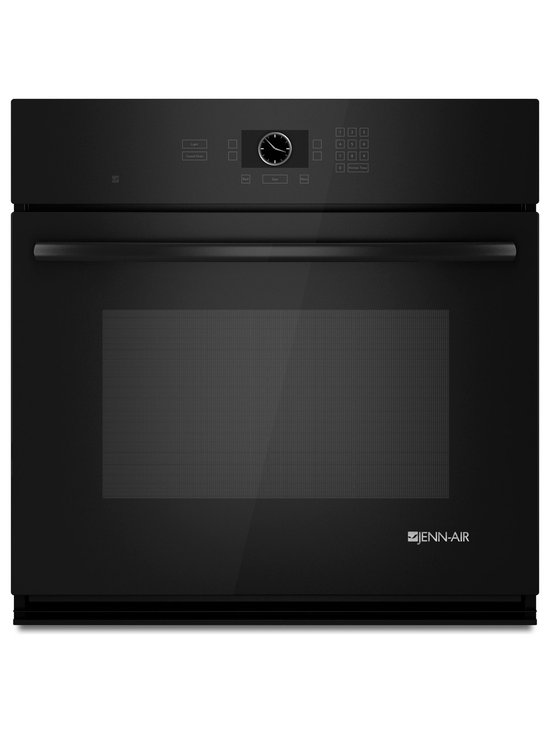 "Jenn-Air 30"" Single Electric Wall Oven, Black On Black 