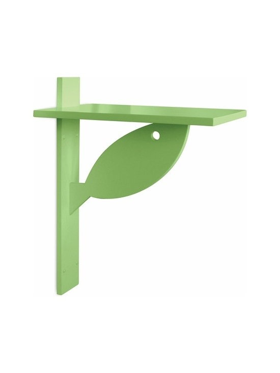 Tide Pool Side Shelf - The sweet simplicity of this shelf makes it perfect for any child's room. Use it as a bedside stand or a place to stack towels in the bathroom. The possibilities are endless.