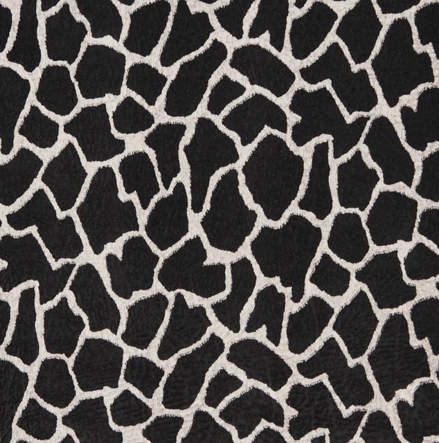 E405 giraffe animal print microfiber fabric contemporary for Designer animal print fabric