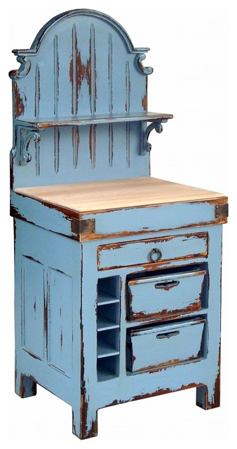 french butcher block hutch kitchen islands and kitchen carts new york by zin home. Black Bedroom Furniture Sets. Home Design Ideas