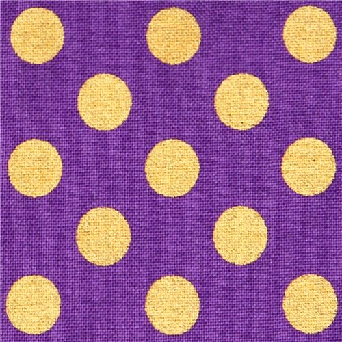 purple Robert Kaufman polka dot fabric Spot On Plum Fabric :  fabric from www.houzz.com size 500 x 500 jpeg 99kB