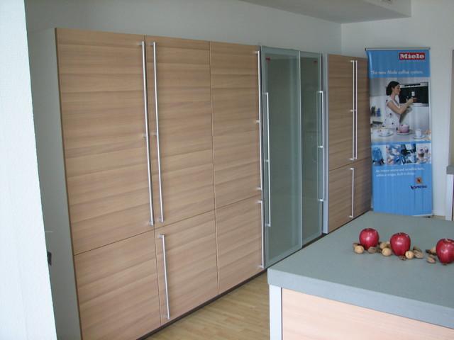 Display at German Kitchen LLC contemporary-kitchen-cabinets