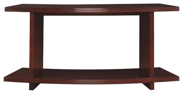 Stickley Curved Sofa Table 7543