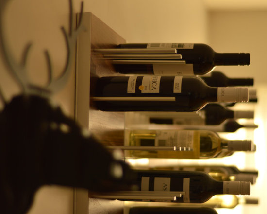 The wine rack that adds bling to your walls – Rated #1 by Huff Post's StyleList - STACT Modular Wall-mounted Wine Storage Panels