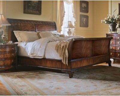 Edinboro King Sleigh Bed modern-beds