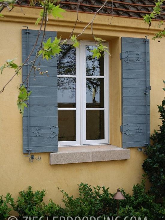 Custom Designed French Château European Garage Doors, Courtyard Gates & Shutters -